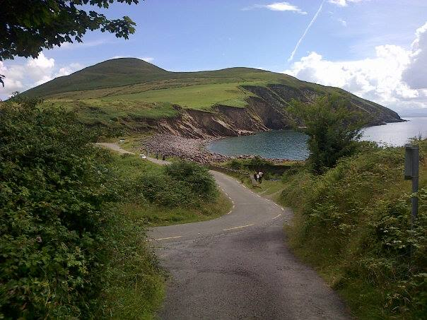 The Dingle Way near Minard