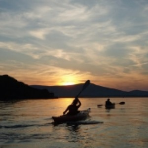 Kayak tours of the Dingle Coastline.
