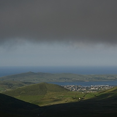 View from Conor Pass