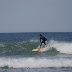 Surfing Lessons with Jamie Knox