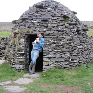 Beehive Huts & Hold a Baby Lamb