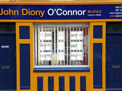 John Diony O'Connor-Auctioneer/Estate Agent